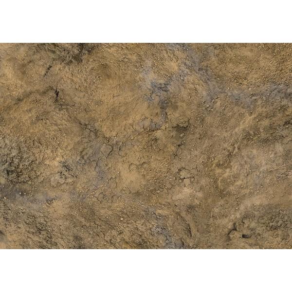 Conquest - Gaming Mats By Kraken - Rock Desert 4'x4' (Pick-up Only)