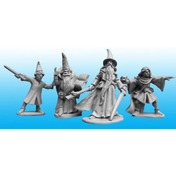 Copplestone Castings - Fantasy Wizards and Apprentices