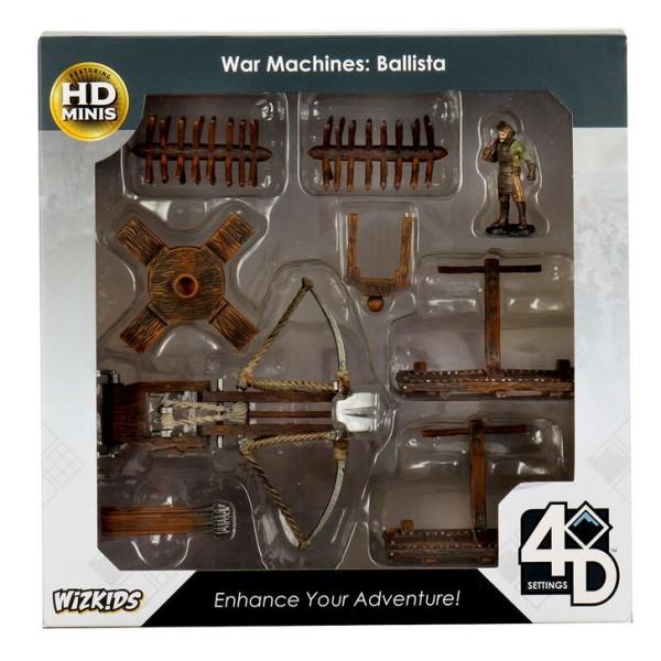 WizKids - Fantasy RPG Terrain - Pre-painted 4D War Machines - Ballista