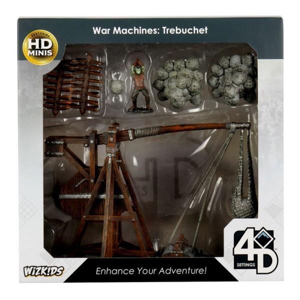 WizKids - Fantasy RPG Terrain - Pre-painted 4D War Machines - Trebuchet