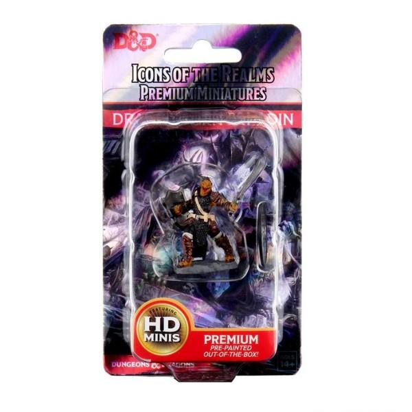 D&D Miniatures - Icons of the Realms - Premium Figures - Dragonborn Female Paladin