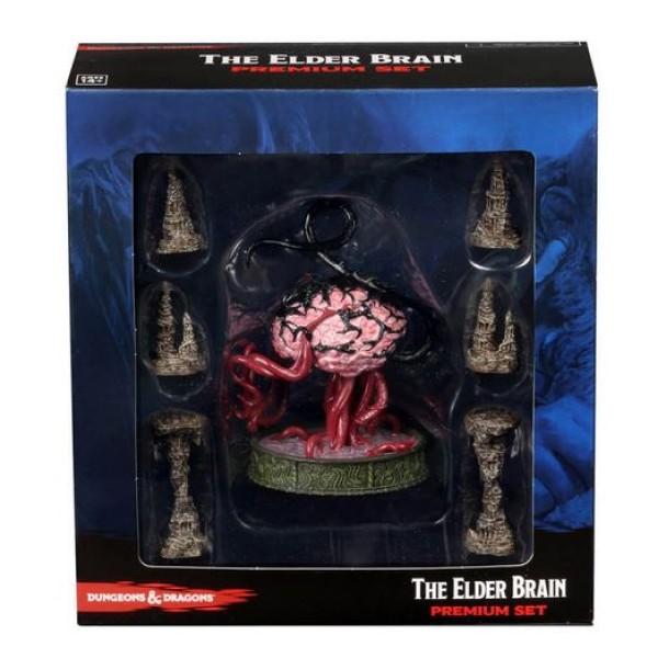 D&D Miniatures - Icons of the Realms Wave 13 - Volo & Mordenkainen's Foes - Elder Brain & Stalagmites Premium Set