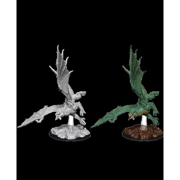 D&D - Nolzur's Marvelous Unpainted Minis: Young Green Dragon