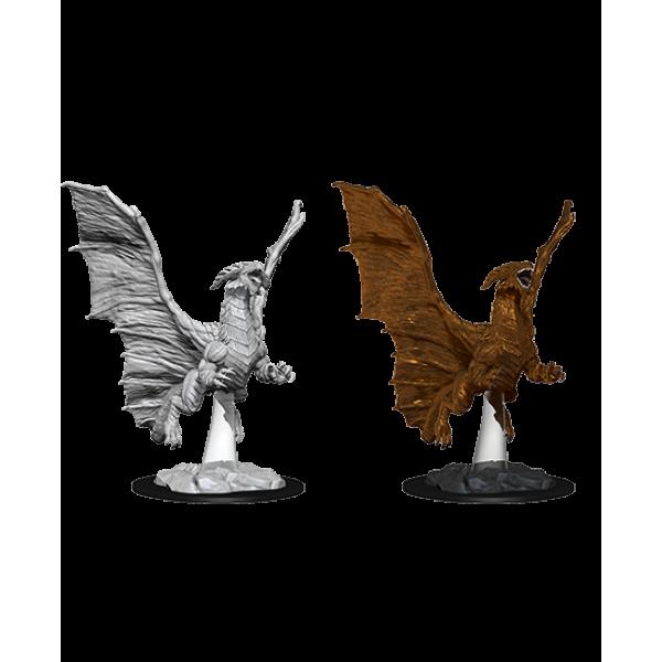D&D - Nolzur's Marvelous Unpainted Minis: Young Copper Dragon