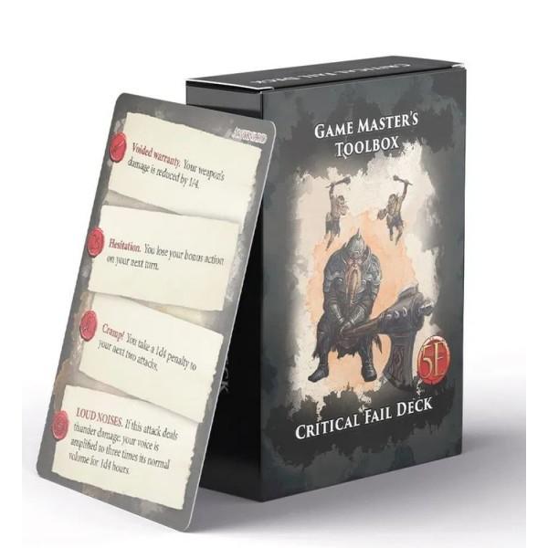 Nord Games - 5th Edition Supplements - Critical Fail Deck
