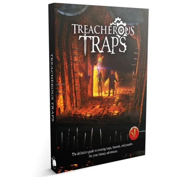 Nord Games - 5th Edition Supplements - Treacherous Traps