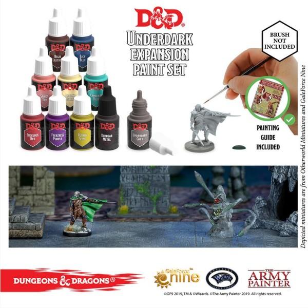 D&D - Nolzur's Marvelous Pigments - Underdark Paint Set