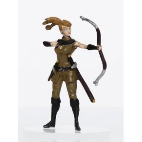 Role 4 Initiative - Pre-Painted Fantasy Miniatures - Female Human Archer