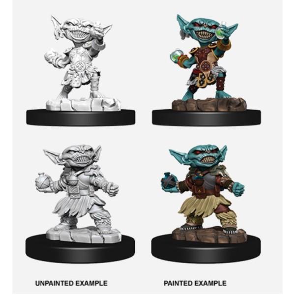 Pathfinder - Deep Cuts Unpainted Miniatures: Goblin Female Alchemist