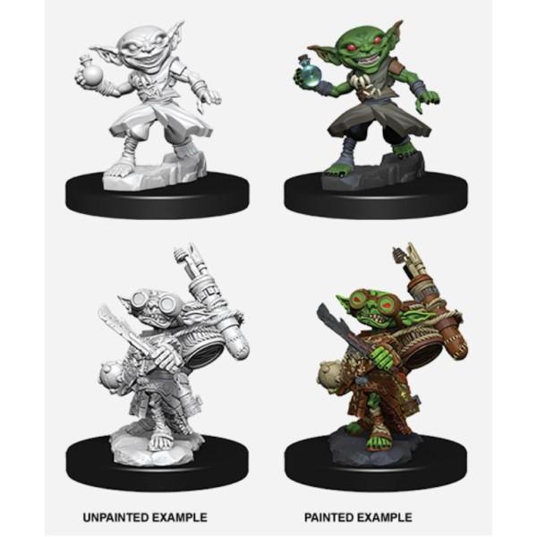 Pathfinder - Deep Cuts Unpainted Miniatures: Goblin Male Alchemist