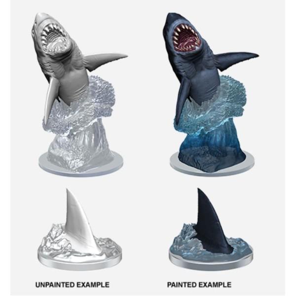 Pathfinder - Deep Cuts Unpainted Miniatures: Shark
