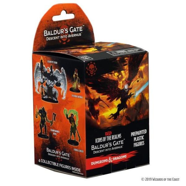 D&D Miniatures - Icons of the Realms Wave 12 - Baldur's Gate: Descent into Avernus - Booster Box