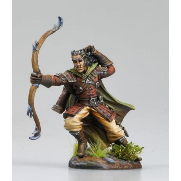 Dark Sword Miniatures - Visions in Fantasy - Half Orc Ranger w/ Bow