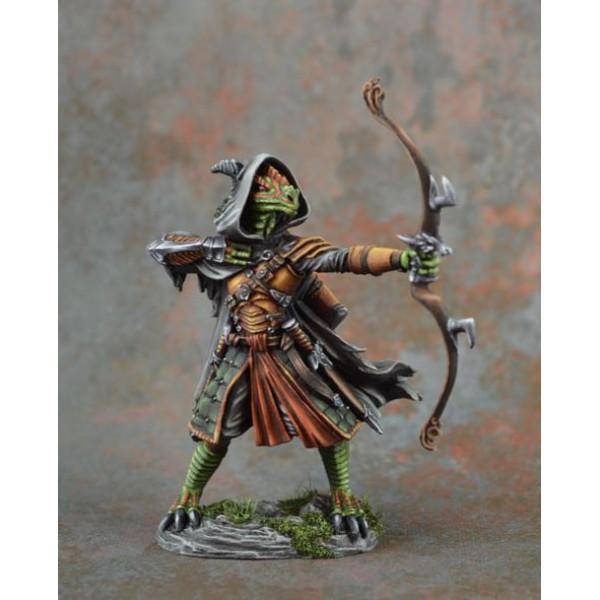 Dark Sword Miniatures - Visions in Fantasy - Dragonkin Ranger w/ Bow