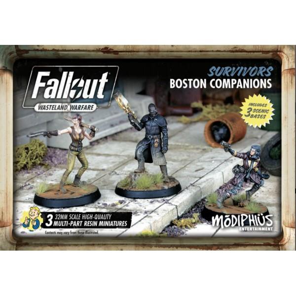 Fallout - Wasteland Warfare - Survivors Boston Companions