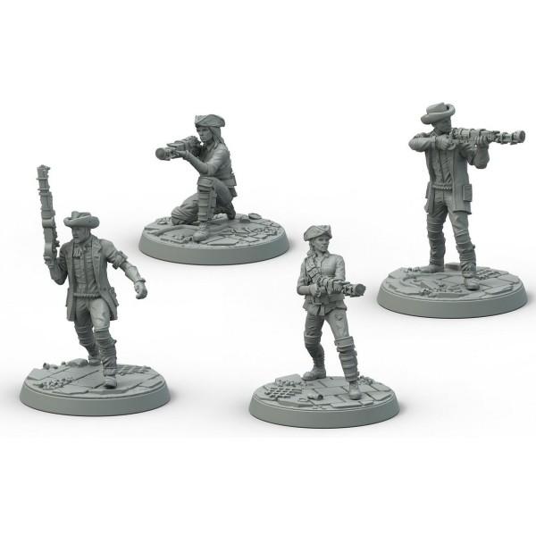 Fallout - Wasteland Warfare - Survivors Minutemen Posse