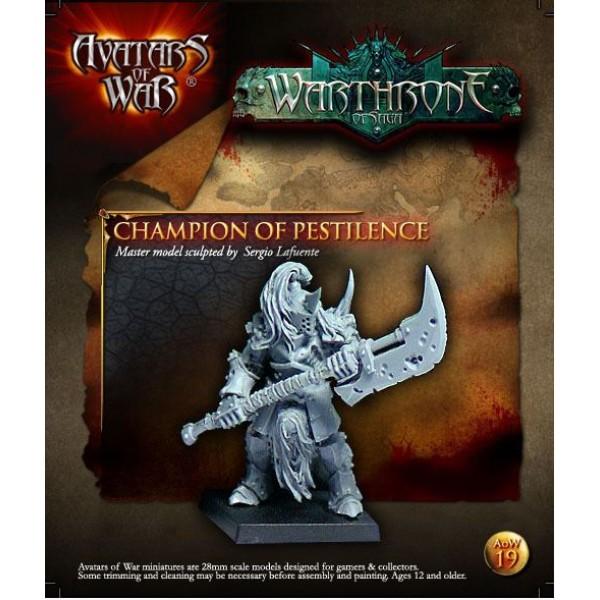 Avatars of War - Dark Gods - Harbinger of Pestilence w/ Great Weapon