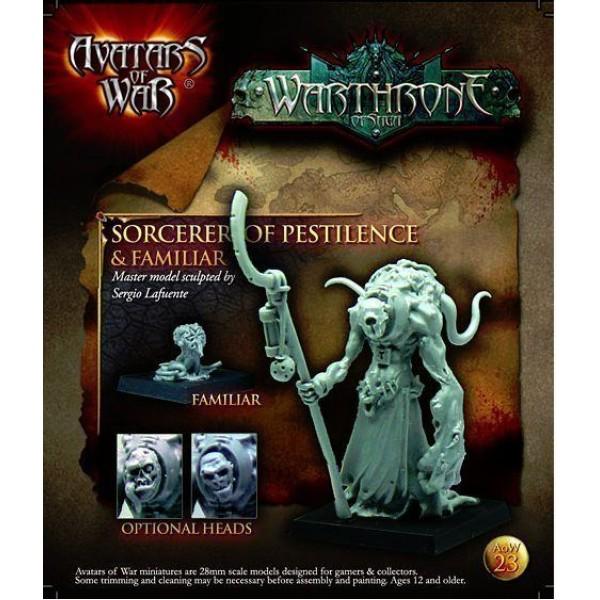 Avatars of War - Dark Gods - Sorcerer of Pestilence w/ Familiar