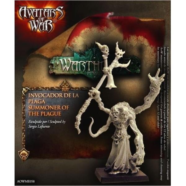 Avatars of War - Dark Gods - Sorcerer of Pestilence