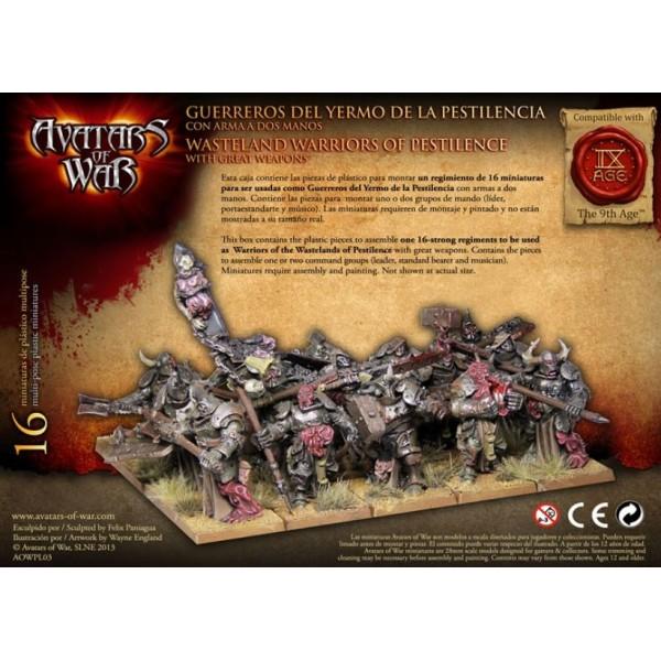 Avatars of War - Dark Gods - Warriors of Pestilence with Great Weapons