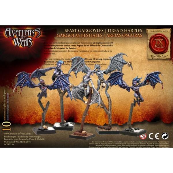 Avatars of War - Dread Elves - Dread Harpies / Beast Gargoyles