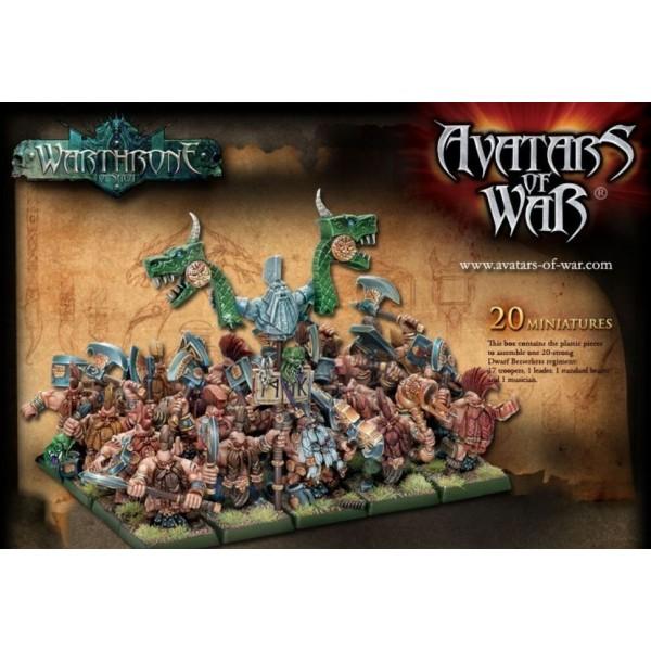 Avatars of War - Dwarfs - Seekers Regiment