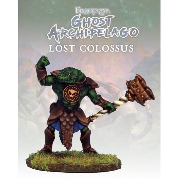 Frostgrave - Ghost Archipelago - Snake-man Heritor II