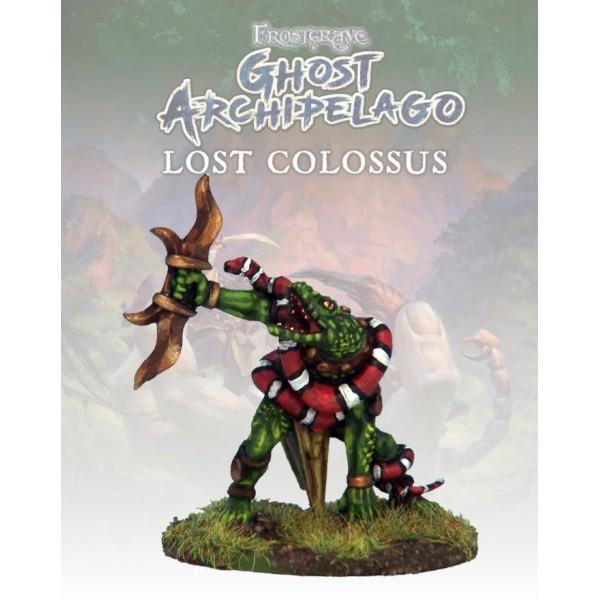 Frostgrave - Ghost Archipelago - Snake-man Warden II
