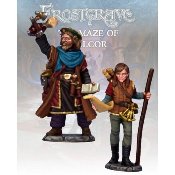 Frostgrave - Astromancer and Apprentice