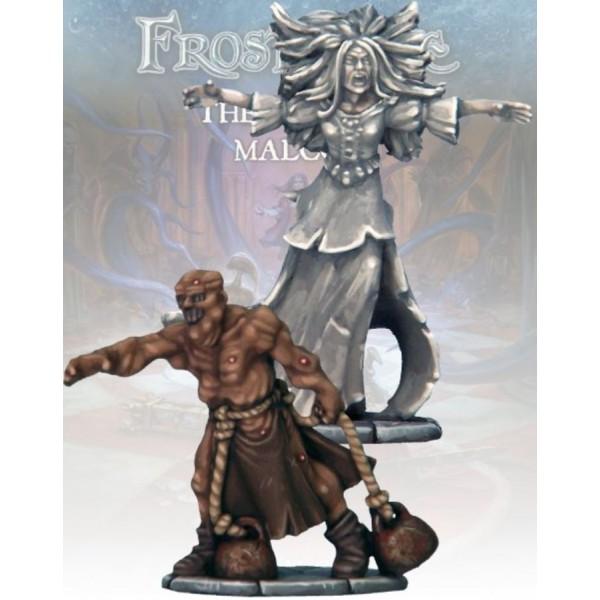Frostgrave - Banshee and Bog Man
