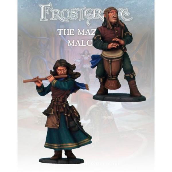 Frostgrave - Sonancer and Apprentice