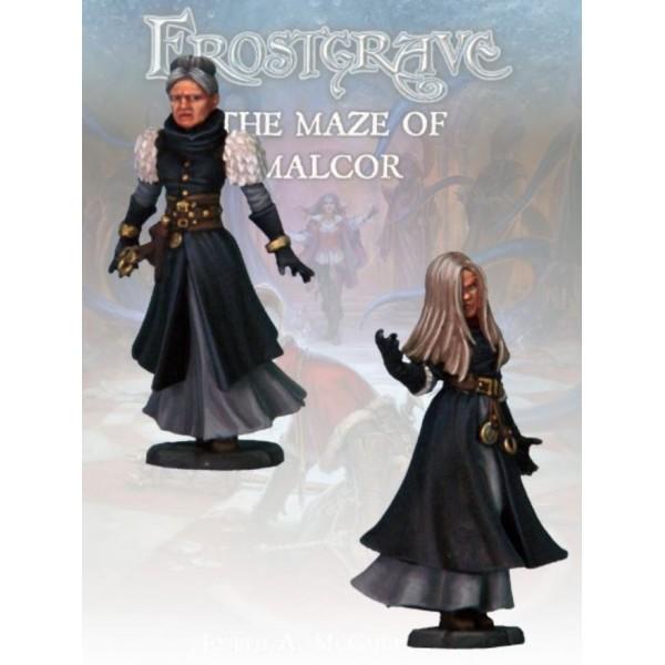 Frostgrave - Spiritualist and Apprentice