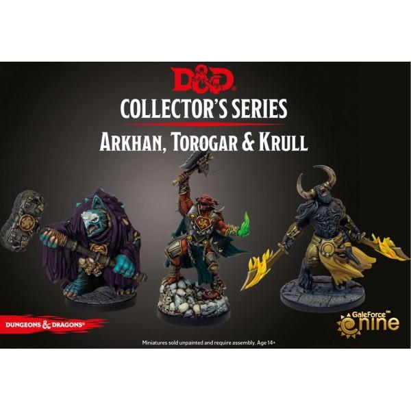 D&D - Collector's Series - Descent into Avernus - Arkhan the Cruel & The Dark Order (Torogar and Krull)