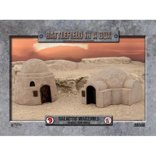 GF9 - Battlefield in a Box - Galactic Warzones - Desert Buildings