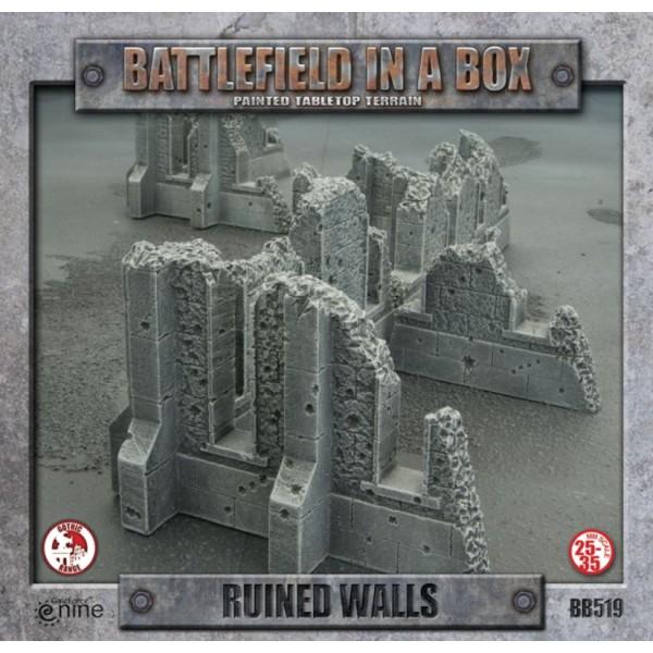 GF9 - Battlefield in a Box - Gothic Ruined Walls