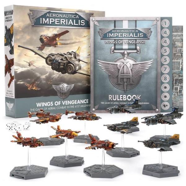Games Workshop - Aeronautica Imperialis - Wings of Vengeance - Aerial Combat in the 41st Millennium
