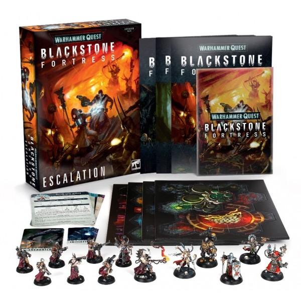 Warhammer 40K - Warhammer Quest - Blackstone Fortress - Escalation