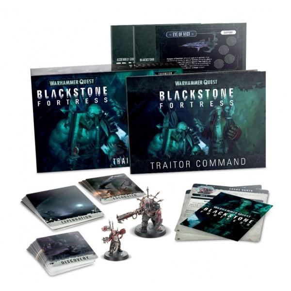 Warhammer 40K - Warhammer Quest - Blackstone Fortress - Traitor Command