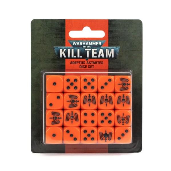 Warhammer 40K - Kill Team - Adeptus Astartes Dice Set