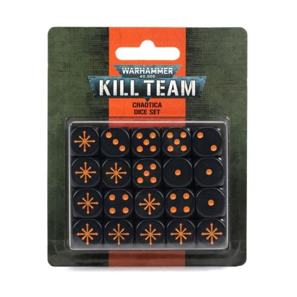 Warhammer 40K - Kill Team - Chaotica Dice Set