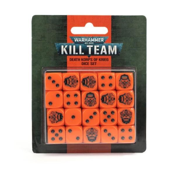 Warhammer 40K - Kill Team - Death Korps of Krieg Dice Set