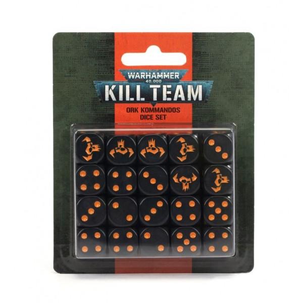 Warhammer 40K - Kill Team - Ork Kommandos Dice Set