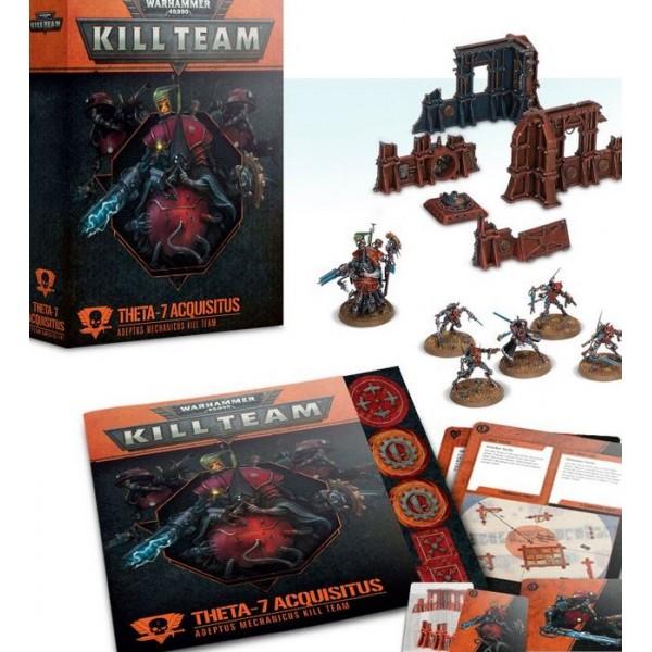 Warhammer 40K - Kill Team - Theta-7 Acquisitus – Adeptus Mechanicus Kill Team