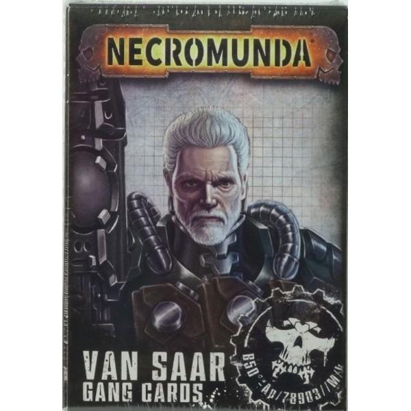 Necromunda - Van Saar Gang Cards