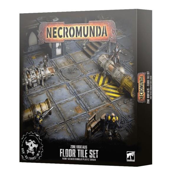 Necromunda - Zone Mortalis: Floor Tile Set