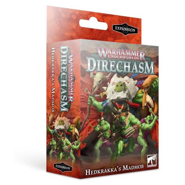 Warhammer Underworlds - Direchasm - Hedkrakka's Madmob