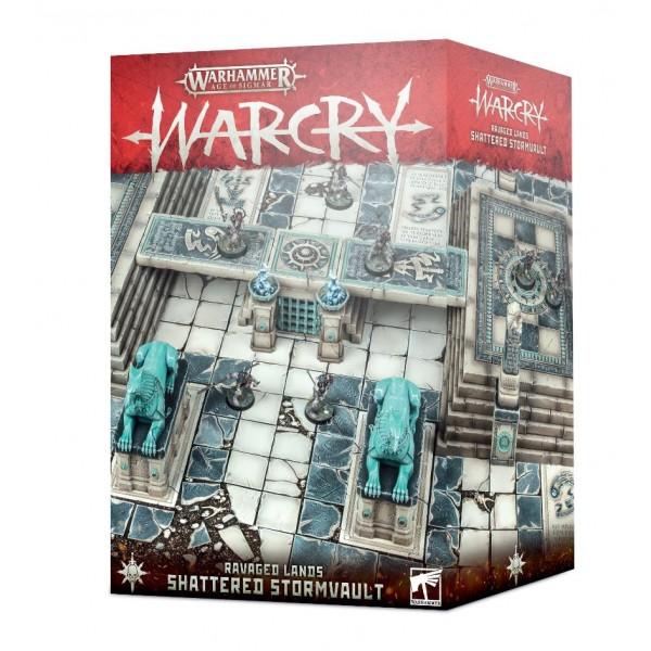 Age Of Sigmar - WARCRY - Ravaged Lands - Shattered Stormvault