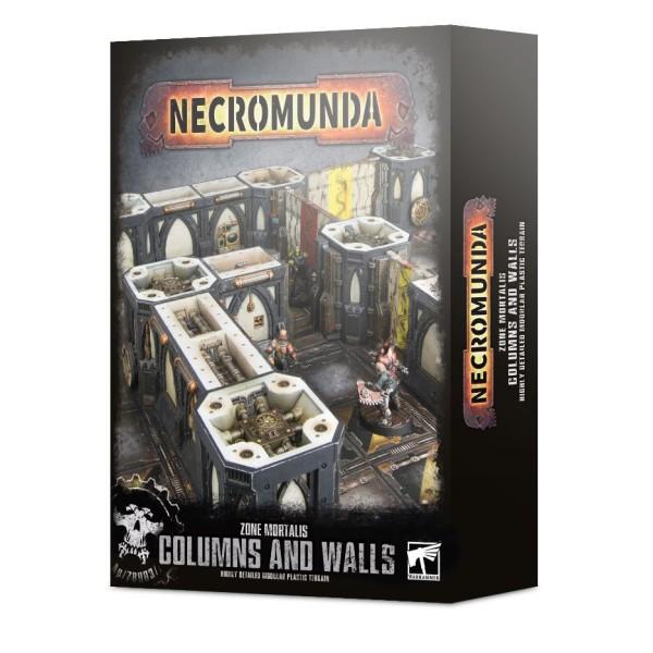 Necromunda - Zone Mortalis: Columns and Walls