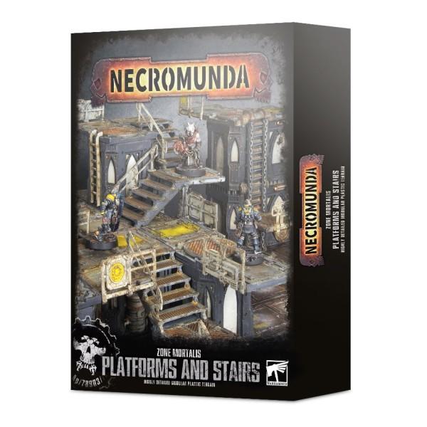 Necromunda - Zone Mortalis: Platforms and Stairs