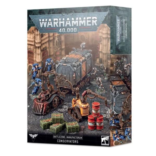 Warhammer 40K - Battlezone Manufactorum – Conservators
